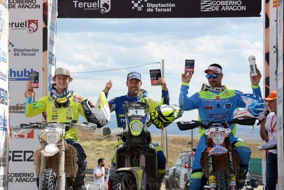 Baja Aragon 2019 Ganador Motos