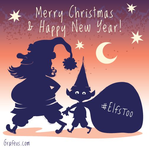 Merry Christmas And A Happy New Year Grafeus Merry Christmas