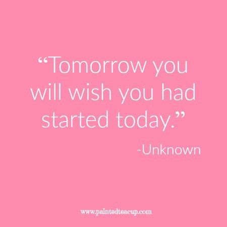 """Tomorrow you will wish you had started today."" 12 Productivity Quotes…"