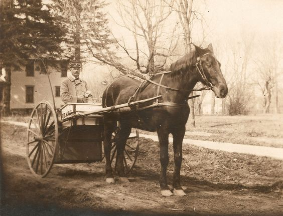 Mail carrier c1900