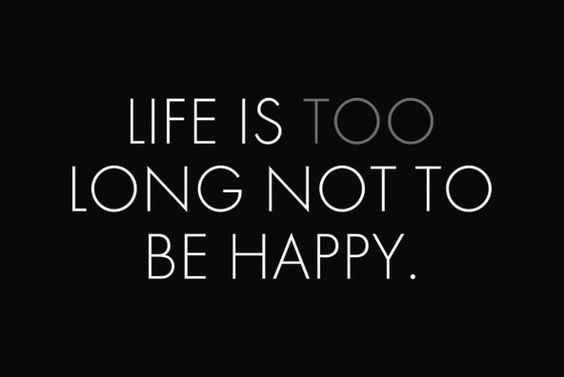 be happy: