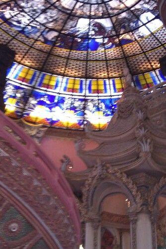 In side erawan building, top is the head of  erawan