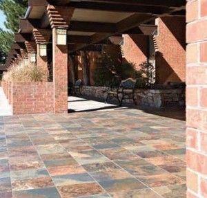 Concrete Patios Patio And Outdoor Tiles On Pinterest