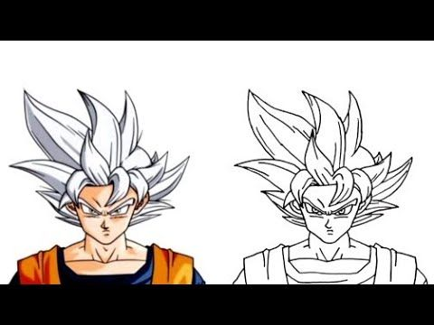 كيف ترسم غوكو سوبر سايان الابيض خطوة بخطوة How To Draw Goku Ssj Silver Step By Step Dragon Ball Youtube In 2021 Drawings Drawing Tutorial Art