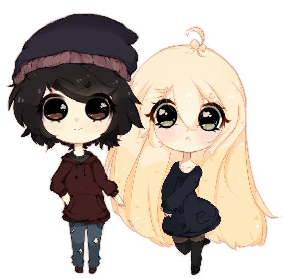 Scene kids love , cute, kawaii, adorable , emo scene , anime chibi ,