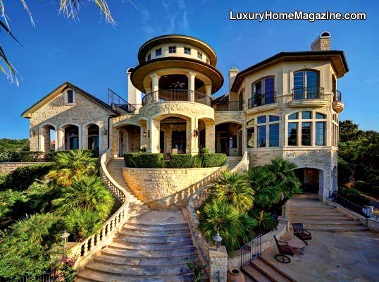 Luxury Home Features luxury home magazine of austin features the stately stone chateau