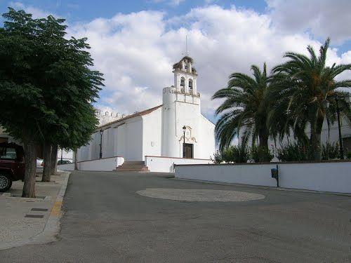 Iglesia de la Virgen de la Antigua en Valverde de Burguillos-1 ...