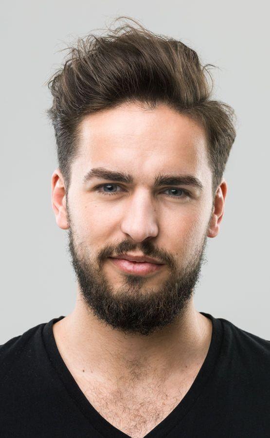Mens Haircuts For Big Foreheads And Thin Hair Hair
