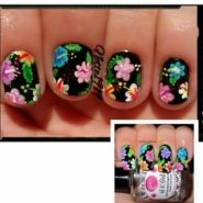 Inspired Mani - from the It's So Easy Nail Art Gallery
