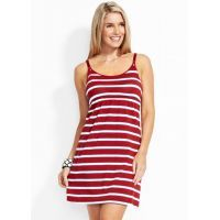 Striped Singlet Maternity & Nursing Dress - Reduced to $59.95 for a limited time*. Available at http://www.mamadoo.com.au/maternity/maternity-clothes/maternity-dresses/ #maternity #dresses #dressthebump #babybump #yummymummy #gorgeous #stylish