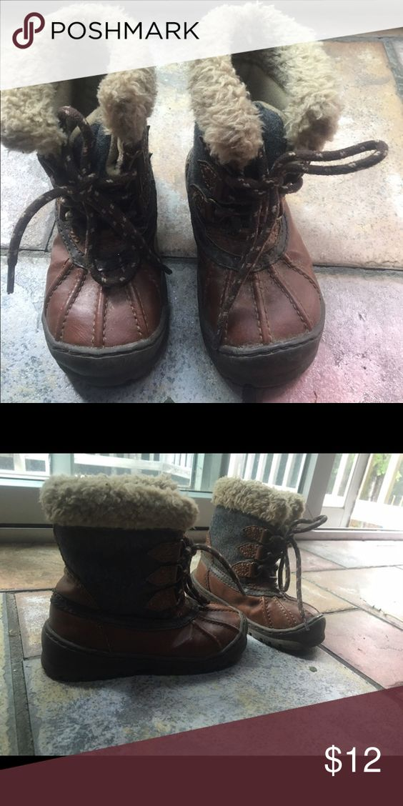 Size 9 toddler Gap boots Great condition and really cute! GAP Shoes Boots