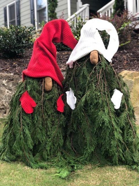 Diy Gnomes The Shabby Tree Christmas Decorations Diy Outdoor Christmas Knomes Christmas Decorations Rustic