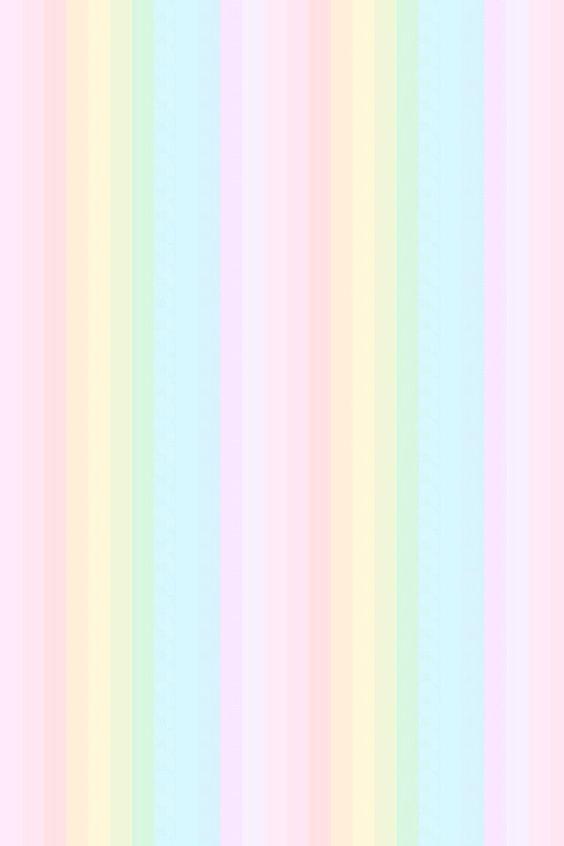 Pastel Rainbow Stripes