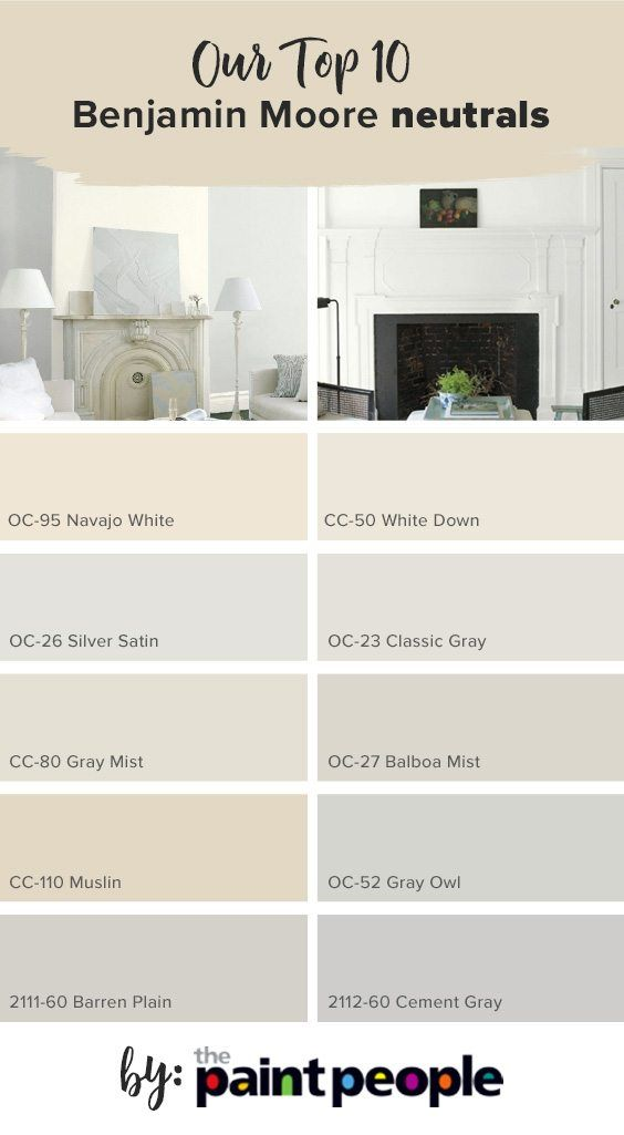 List Of Top 10 Benjamin Moore Light Neutrals By The Paint People Warm Paint Colors Living Room Decor Colors Paint Colors For Living Room