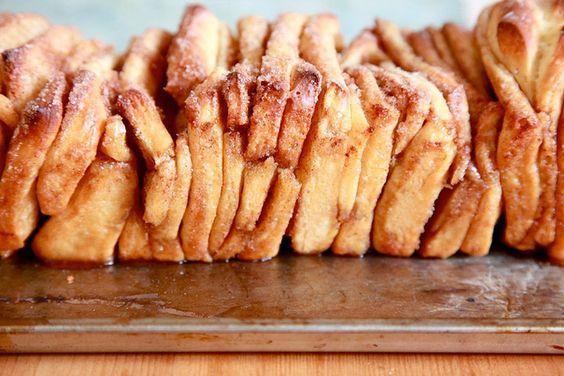 Pull apart cinnamon bread... NOM