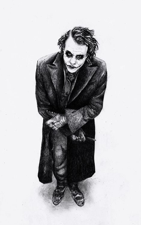 Joker by ~atergnetic on deviantART: