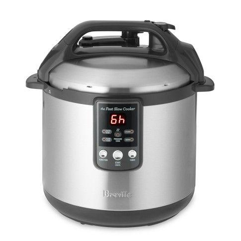 Breville Fast Slow Cooker Slow Cooker Pressure Cooker Fast And Slow Fast Cooker
