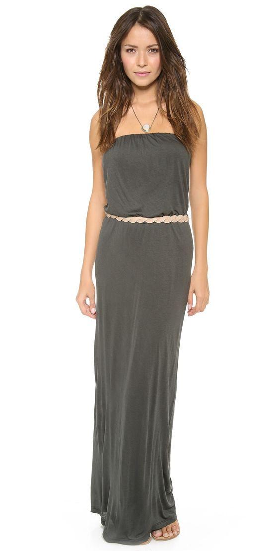 Velvet Tammie Slinky Maxi Dress | SHOPBOP