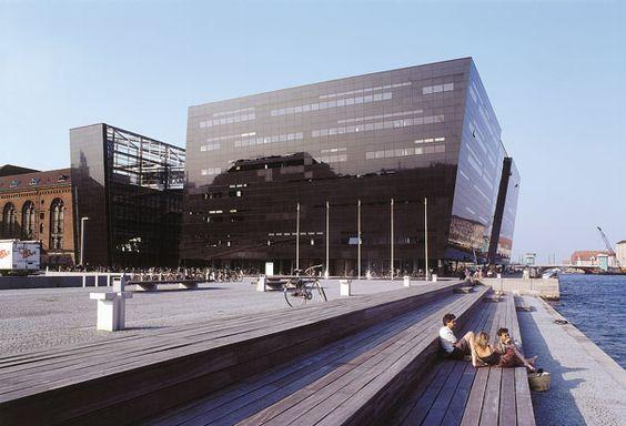 The Black Diamond - The Royal Library, Copenhagen, Denmark