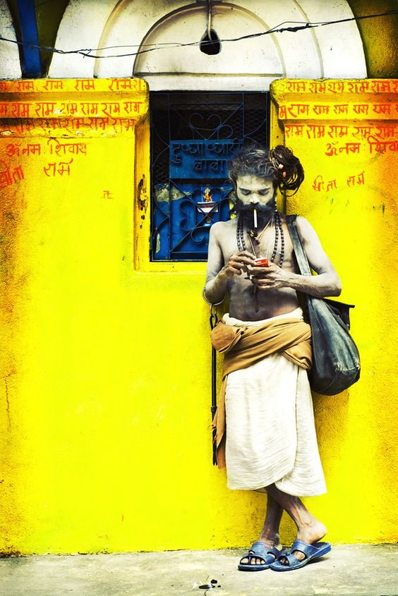 Sadhus and #colours
