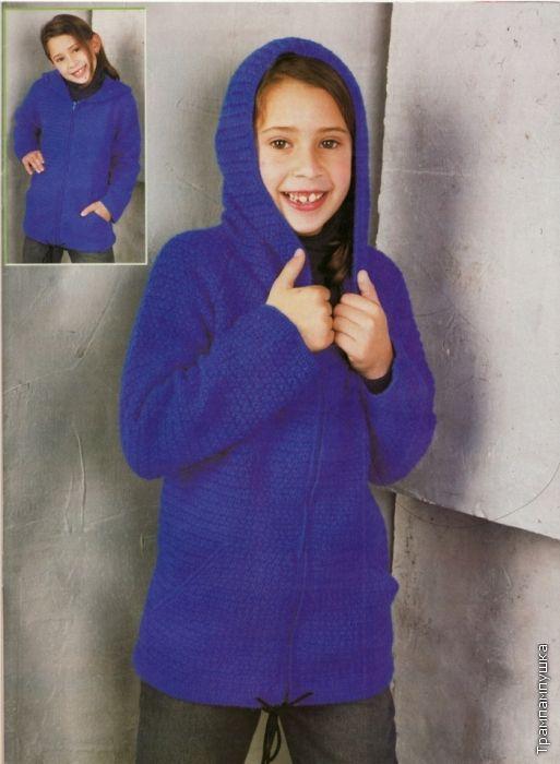 Crochet de Ouro casaco Croche!
