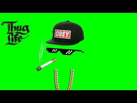 Thug Life With Song In Green Screen Youtube Greenscreen Thug Life Wallpaper Video Design Youtube