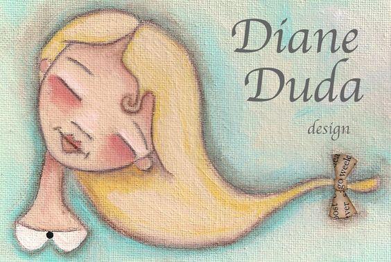 Duda Daze - Impresionante las ilustraciones de esta chica. El blog deja volar la imaginacion y dan ganas de ponerse a pintar