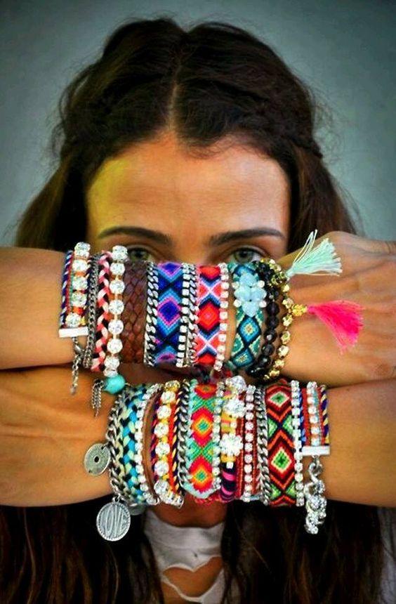 boho chic campanhas de moda | 18 mix de acessórios para se inspirar
