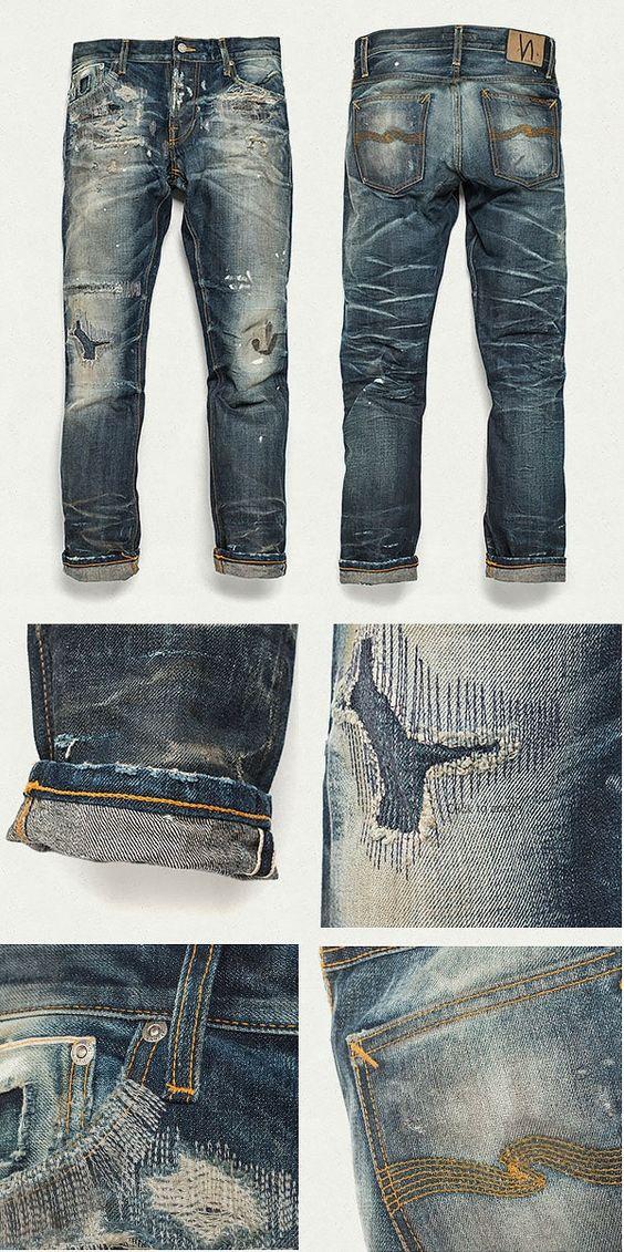 Nudie Jeans Co Stone Mason Replica