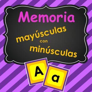 El juego contiene el alfabeto con letras maysculas y minsculas. Tambin incluye la , Ll y Ch. Memoria es una forma fcil y divertida para ayudar a los estudiantes a mejorar su atencin visual mientras aprenden el alfabeto.This game includes the lower & upper case Spanish Alphabet, including the , Ll & Ch.