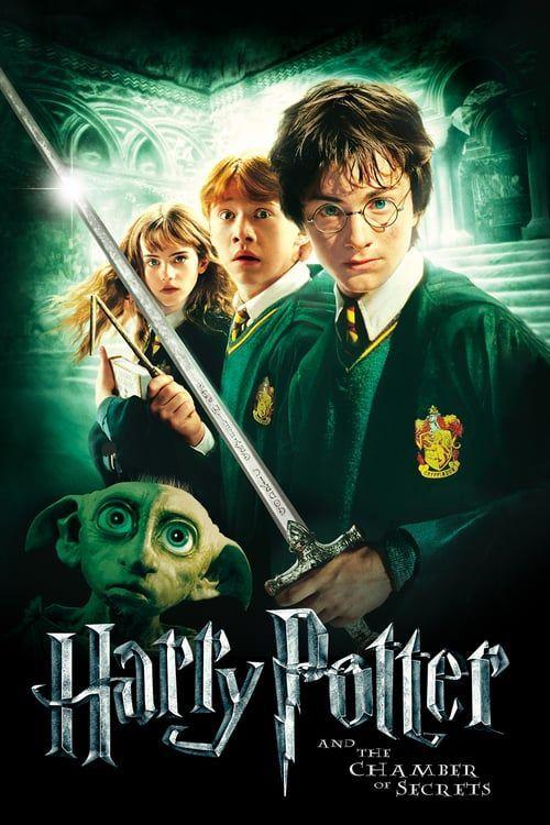 Harry Potter Y La Camara Secreta Chris Columbus 2002 Con Daniel Radcliffe Y Rupe In 2020 Harry Potter Movie Posters Harry Potter Ron Harry Potter Ron And Hermione