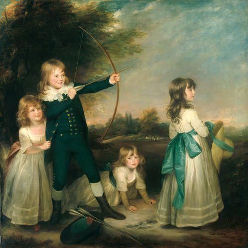 Sir William Beechey - The Oddie Children (1789):