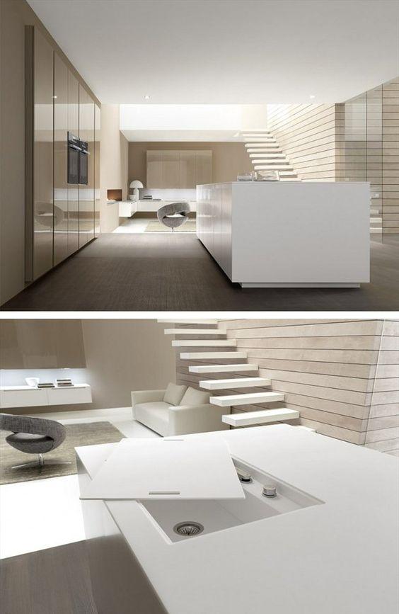 Custom fitted kitchen LINEA Vogue by Comprex | design MARCONATO & ZAPPA ARCHITETTI ASSOCIATI