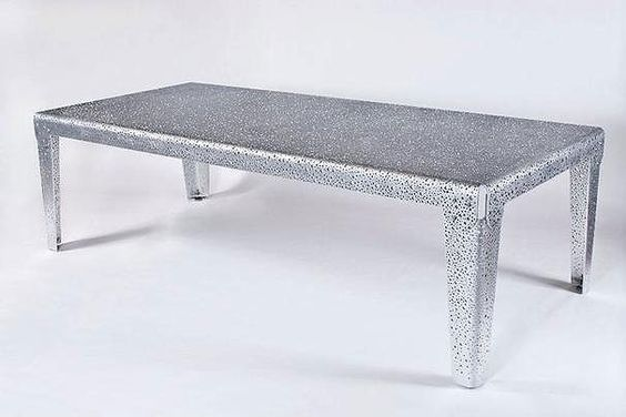 Steel Table W Holes Tomb Sweet Tomb Pinterest And