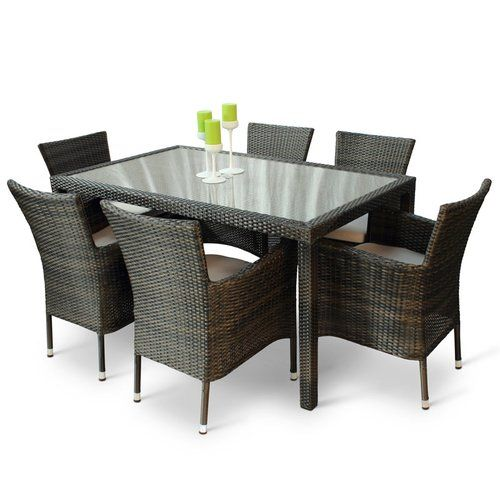 Kirsten 6 Seater Dining Set With