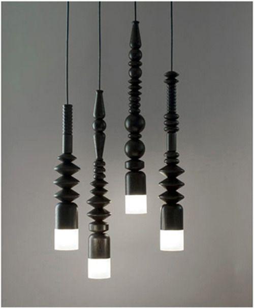 lamp ♥ com pernas de móveis