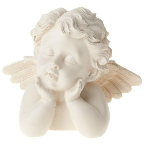 Angel Bust Engel Poly ca. XX cm ($7.43) ❤ liked on Polyvore featuring fillers, angels, home, items, other, detail and embellishment