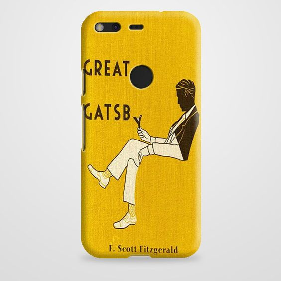 The Great Gatsby Character Map Google Pixel Case | casefantasy