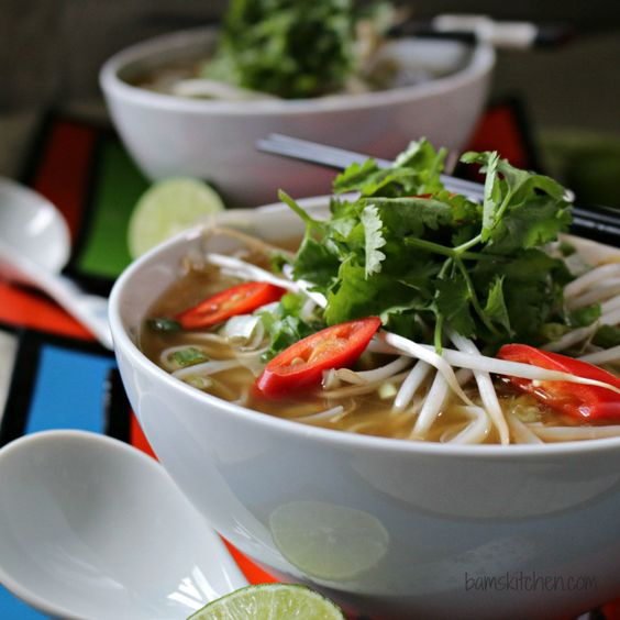 Easy Beef Phở with Oodles of Noodles _Bam's Kitchen