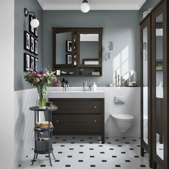 ikea hemnes bathroom - Google Search: