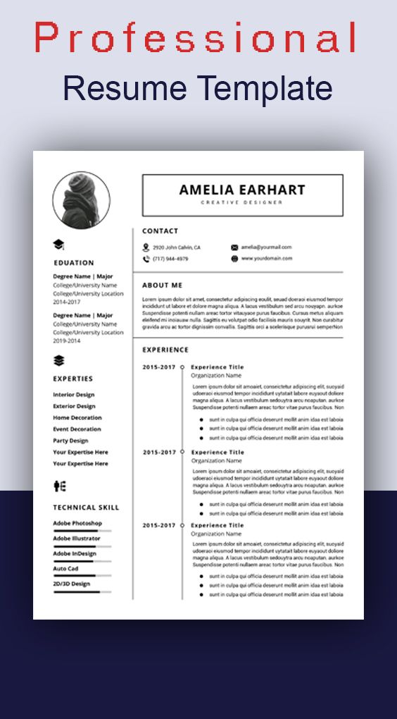 Resume Template Instant Download Professional Resume Template Resume Template Word Modern Resume Template Resume Writing Cv Template Resume Design Template Resume Template Word Resume Template Professional