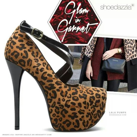 I heart these leopard print heels!