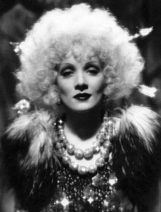 Marlene Dietrich ~ Blonde Venus