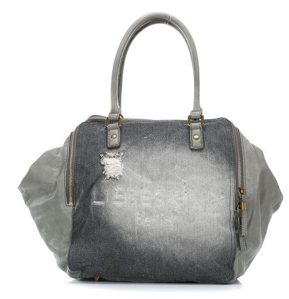 Liebeskind Denim Bags KaylaA Shopper grau 33 cm - denim-kaylaa-grey - Designer Taschen Shop - wardow.com
