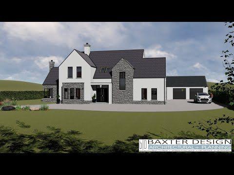 Irish House Plans Ts074 With Granny Flat Youtube Irish Houses Irish House Plans House Designs Ireland