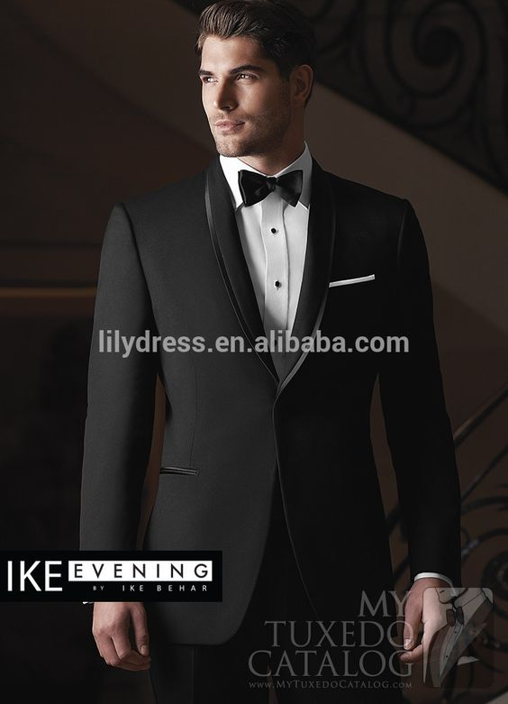 Customized Black One Button Groommen Wedding Suits With Satin Colla Terno Novio (jacket+pants+bow) Wd002 Men Suits Made In China Photo, Detailed about Customized Black One Button Groommen Wedding Suits With Satin Colla Terno Novio (jacket+pants+bow) Wd002 Men Suits Made In China Picture on Alibaba.com.