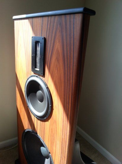 lets see your o b speakers open baffle full range speakers pinterest diy and. Black Bedroom Furniture Sets. Home Design Ideas