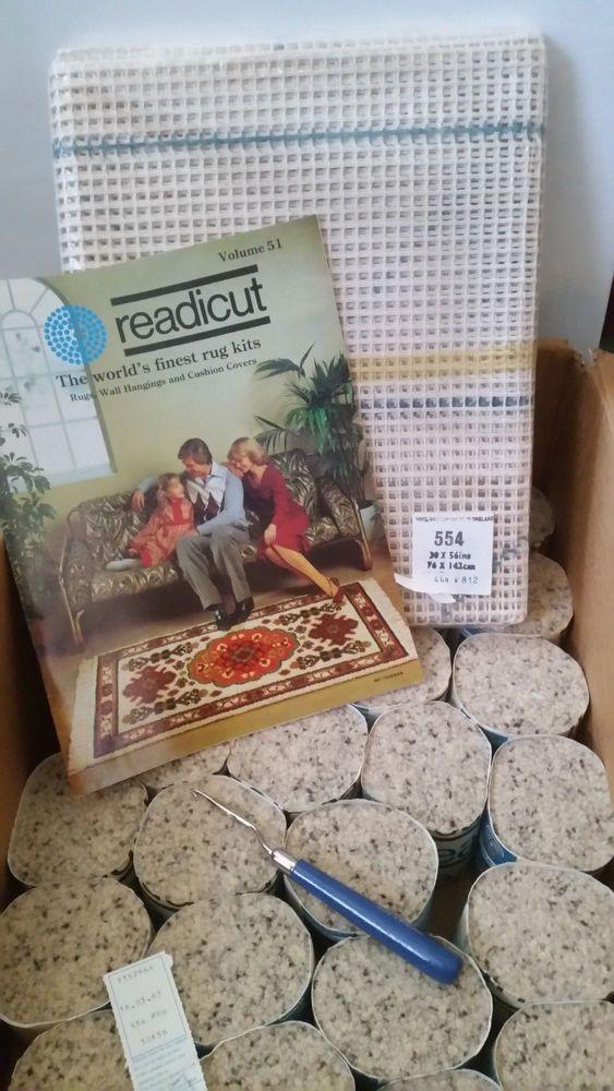 Readicut Vintage Wool Mix Rug Making