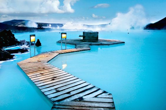 Iceland — Blue Lagoon Geothermal Spa
