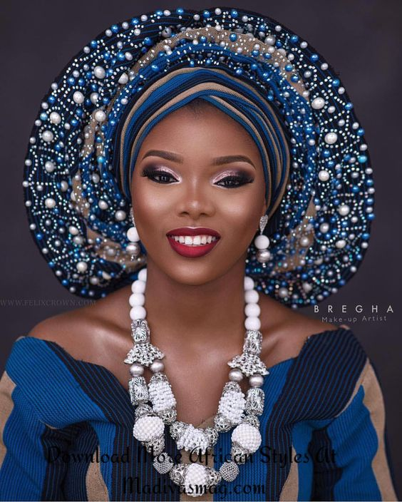 Gele styles are too numerous to mention because the art of tying the Gele material is limited only by the artistry and imagination of the person tying the G